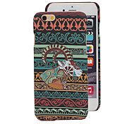 Fashion Luminous Dull Polish of Side Sheep Back Cover for iPhone 6 Plus