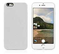 de silicona de color puro de la contraportada para el iPhone 6 Plus (colores surtidos)