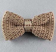 Gravata Borboleta (de Roupa de Malha , Bege/Azul/Marrom/Vermelho) - Vintage/Pesta/Trabalho/Casual