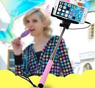 нужно Bluetooth выдвижной КПК телескопический автопортрет монопод для iPhone и других телефонов (ассорти цветов)