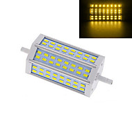 1 pcs R7S 15W 48X SMD 5730 1152LM 2800-3500/6000-6500K Warm White/Cool White Spot Lights AC 220V