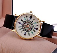 Women's Retro  Leather Watch Circular High Quality Japanese Watch Movement(Assorted Colors) Cool Watches Unique Watches