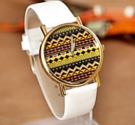 Womens Circular Pattern China Movement Watch Belt(Assorted Colors)