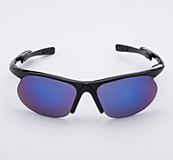 Cycling Men's Anti-Fog Plastic Wrap Fashion Sports Glasses
