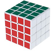 4x4x4 Spring Magic Rubik's Cube Puzzle Toy - White Base