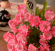 Set of 3 Mini Daisies Pink Color