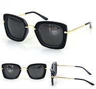 Sunglasses Women's Modern / Fashion Square Black / Purple / Dark Blue / Gray Sunglasses Full-Rim