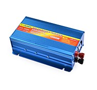 SUOER FAA-1000A 1000W DC 12V to AC 230V Solar Power Inverter w/ Reverse Battery +/- Protection (Blue)