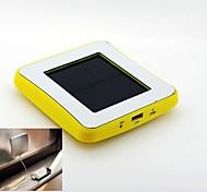 banco do poder de bateria externa 2600 - ( mAh ) - Li-polímero - Carregamento por Energia Solar - para Universal
