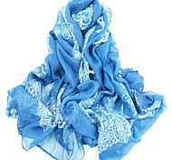Women's National Style Design Casual Silk Scarf