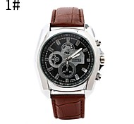 Men's New Scale Takifugu Fashion Circular Belt China Movement Watch(Assorted Colors)