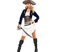 Women's  Pirate  Denim  Halloween Party Cosplay  Costume