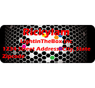 Personalized Product Labels / Address Labels Black Pattern Of Film Paper