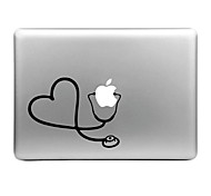Hat-Prince Stethoscope Designed Removable Decorative Skin Sticker for MacBook Air / Pro / Pro with Retina Display
