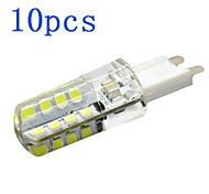 10Pcs G9 4W 32 LED Bulb 360LM 2800-6500K 2835 SMD Chandelier Crystal Lamp Home Lighting AC 220V-240V
