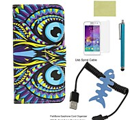 Compatible Accessories Bundle Includes Screen Protector and Fishbone and Stylus and Spiral USB Cable for Galaxy A3