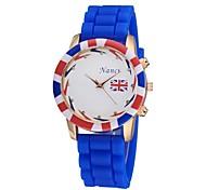 - Analog - Karton - Armband-Uhr - für Damen