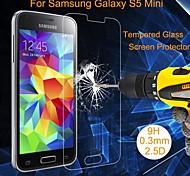 Protetor de Tela - Vidro Temperado à Prova de Explosões/Resistente ao Pó/Impermeável - para Samsung Galaxy S5 Mini