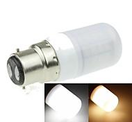 Lampadine a pannocchia 40 SMD 5630 B22 7 W Decorativo 1200-1600 LM Bianco caldo/Luce fredda AC 100-240 V