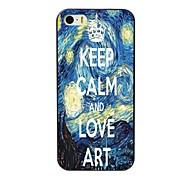 manter o caso duro projeto calmo e arte amor para iPhone 4 / 4S