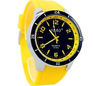 Men's Sports Leisure Watches Silicone Strap (Assorted Colors)