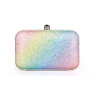 Handbag PU Shoulder Bags/Wristlets With Metal