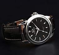 orologio al quarzo impermeabile classico cinturino in pelle business della moda chenxi