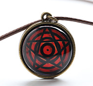 Vilam® Red Magic Eye Star Time Gem Cabochon Necklace