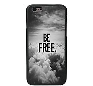 Be Free In The Sky Design Hard Case for iPhone 6 Plus