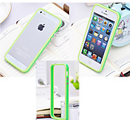 Silicone Bumper Frame Hard Case for iPhone 5/5S(Assorted Colors)