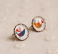 New Bird Lovers Stud Earrings