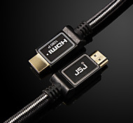 JSJ®  V1.4 3D 4K 2160P HDMI Male to Male Super Clear HDMI Cable(OD8.0MM 1.8M 5.9FT)