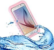 Samsung Samsung Galaxy S6/Samsung Galaxy S6 edge - Custodie per retro/Custodie integrali/Anti-urto/Sacchettiimpermeabili -Con cristalli/Design