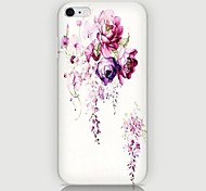 Rose Pattern Back Case for iPhone 6