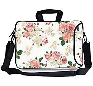 "Elonbo Blossoming Flower Carrying Handle & Removable Shoulder Strap Laptop Bag for 13"" Macboob pro HP"