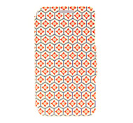 Kinston® Honeycomb Lattice Pattern PU Leather Full Body Cover with Stand for Huawei Honor 6X/6 Plus
