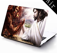 Demon and Jesus Design Full-Body Protective Plastic Case for 11-inch/13-inch New MacBook Air