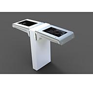 Buit-in 1500mah Battery 2700-6500 K 16 LED Mini Solar Garden Wall Light With Dual Model (Motion Sensor Adjustable)