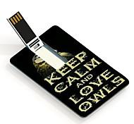 16gb mantener la calma y el amor debe tarjeta de unidad flash USB de diseño