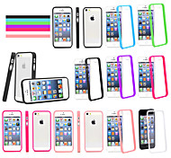 GYM Clear Acrylic Back Case for iPhone 5/5S(Assorted Color)
