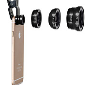 Metal Fish-Eye Lens Wide-Angle Lens 180° Lens with Case iPhone 4/4S iPhone 5C iPhone 5S