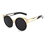100% UV400 PC Round Retro Sunglasses
