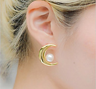 Sweet  As Picture Alloy Stud Earrings(As Picture) (1 Pair)