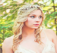 Flower Crown, Rustic Head Wreath, Wedding Headband, Bridal Hair, Wedding Crown  Flower Headband