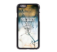 You Make All Things New Design Aluminum Hard Case for iPhone 6