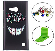 For Nokia Case Pattern Case Back Cover Case Word / Phrase Hard PC Nokia Nokia Lumia 730 / Nokia Lumia 640