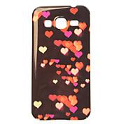 caso del tpu pintura del corazón para Samsung Galaxy Ace 4 g357fz