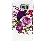 motif de fleur TPU étui souple pour Samsung Galaxy bord de la g9250