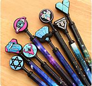 Creative Star Harajuku Press Neutral Pen(Random Color)