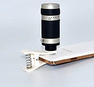 Apexel  Optical 8X Zoom Telescope Lens Manual Focus with Clip for Samsung S6/S5/Note 4/iPhone and Others